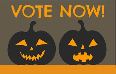 Vote for the Staff Pumpkin Decorating Contest
